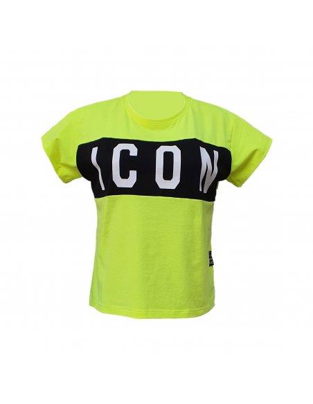 T-SHIRT DONNA MANICA CORTA ICON